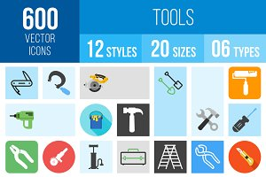 600 Tools Icons