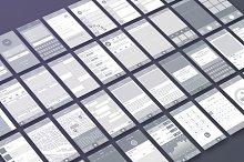 Wireframe & UI Elements