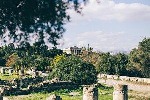 Greek Agora and Temple of Apollo