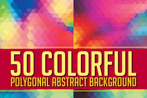 50 Colorfull Abstract Background