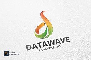 DATAWAVE / Letter D - Logo Template