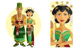 Indonesia Central Java Wedding Dress
