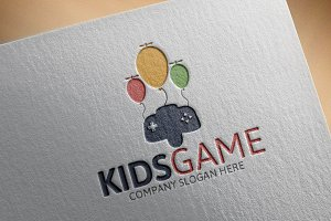 Kids Game Logo