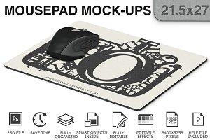 Mouse Pad Mockups - 21.5 x 27 - 1
