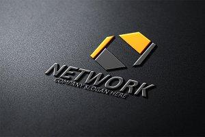 Network N Letter Logo