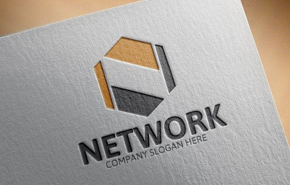 Network N Letter Logo in Logo Templates - product preview 1