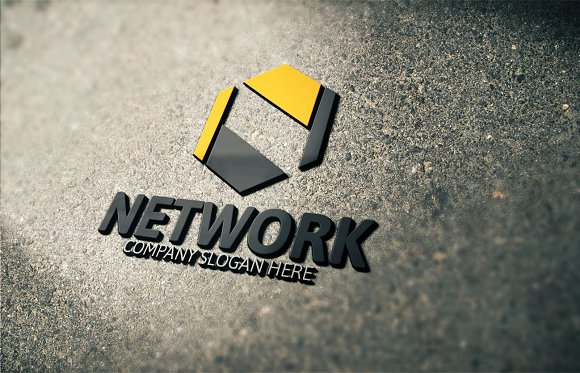 Network N Letter Logo in Logo Templates - product preview 2