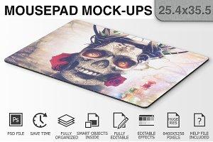 Mouse Pad Mockups - 25.4 x 35.5 - 1