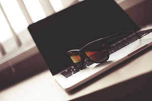MacBook with Fashion Glasses #3