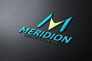 Meridion Logo / M Letter