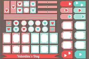 Printable Valentine's Day set