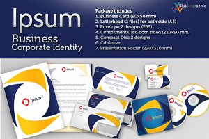 Ipsum - Business Corporate Identity