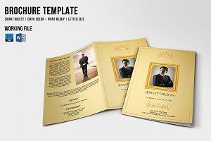Funeral Program Template-V371