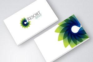 Green Resort Spa Logo icon
