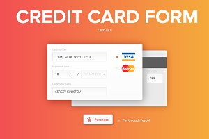 Credit сard form