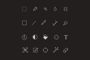 20 Editor Toolbar Icons
