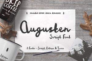 Augusten Script Font