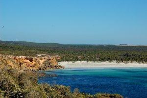 Beach to Ocean Stock Photo
