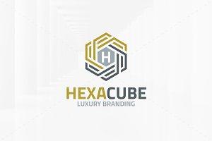 Hexa Cube - Letter Logo