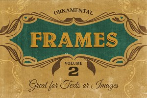 Ornamental frames Vol.2