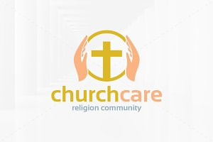 Church Care Logo Template