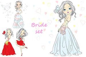 Bride set