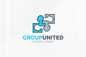 Group United Logo Template
