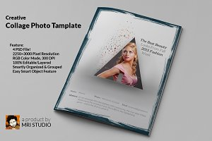 Creative Collage Photo Template