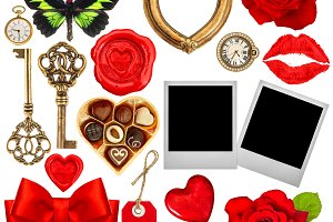 Valentines Day scrapbook JPG