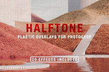 Halftone + Plastic Overlays by  in Add-Ons
