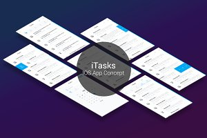 iTasks - IOS UI Kit
