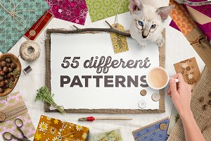55 Different patterns pack