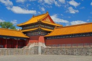 Forbidden City Wall Tower, Beijing