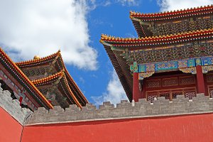 Forbidden City Roof Detail