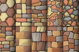 60 boulder wall textures