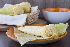 Corn tamale