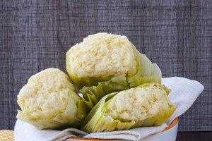 Organic corn tamale