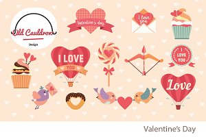 Valentine's Day clipart CL009