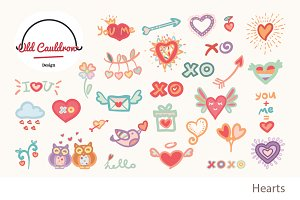 Valentines vector clipart  CL010