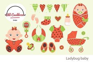 Ladybug baby girl CL014