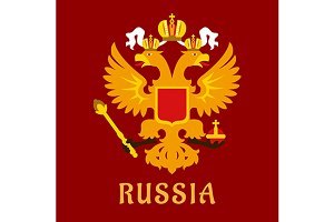 Russian doubleheaded imperial eagle