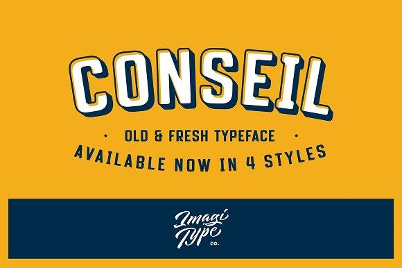 Conseil Typeface