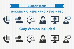 Support Icons