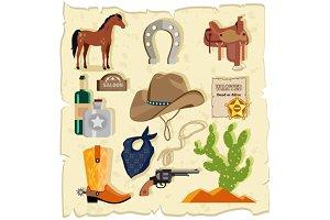 Wild West Cactus Revolver Hat