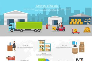 Delivery of Goods Logistics