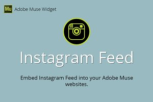 Instagram Feed Adobe Muse Widget