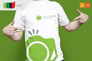 Insta Pix - Logo Template + Free BC