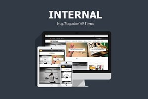 Internal - Blog/Magazine WP Theme