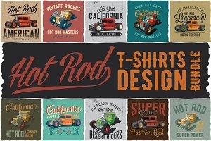 Hot Rod T-shirts BUNDLE