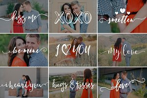 Happy Valentines - photo overlays